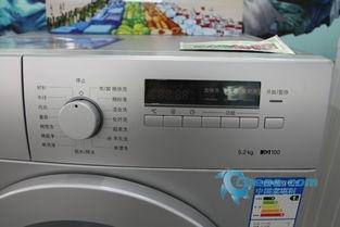 西门子洗衣机WM08X268TI控制面板-专业呵护轻松洗衣 西门子5.2kg滚...
