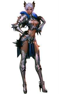 龙骑士传奇 人物原画图片 游戏图片下载