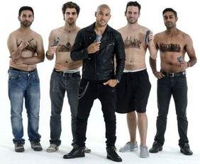 男人胸毛怎么打理 理发师为男性打造胸毛造型屌炸天