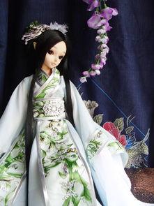 芭比娃娃古装衣服教程