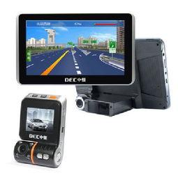 ...GPS导航仪 双向行车记录仪 电子狗雷达预警仪 标配无卡GPS产品图...