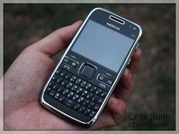 诺基亚E72手机正面图片-800万像素仅999元 40款拍照强机报价表