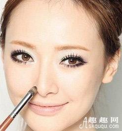 让鼻子坚挺和美丽 不同形状鼻子的化妆法