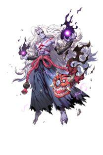 魔化杨戬:男、武仙、传说.   简介:黑化狂妄的魔化青年.是杨戬潜...