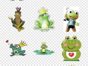 ...话故事卡通绿色青蛙王子海报png素材图片 模板下载 23.54MB 动物大...
