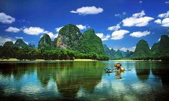 ...交汇,体验异域风情,艳遇之都,体验旅行中的旖旎-桂林漓江 古东...