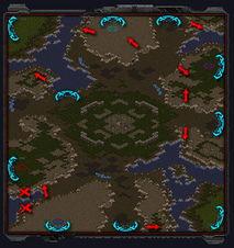 老lost temple地图: