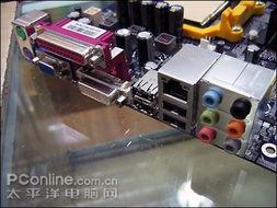 板载Realtek ALC888提供8声道声卡和Realtek RTL8110SC千兆网卡-...