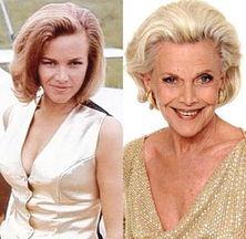 007系列电影 众邦女郎今昔照对比