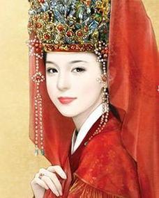 是宋英宗的皇后高滔滔,出身名门望族.曾祖高琼,是北宋的开国元勋...