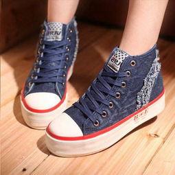 高帮帆布鞋鞋带系法,四种最酷系法 2