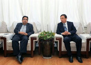 Hao Yuan meets with Malaysian guest