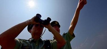 大雁南飞的季节 走近边防护鸟兵-武警摄影师镜头里驰骋疆场的战友