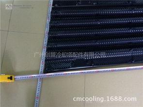BAC冷却塔填料 BAC蒸发式冷却塔填料 PVC淋水片 冷却塔散热胶片