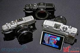 奥林巴斯E P6造型复古新势力的微单相机即将上市