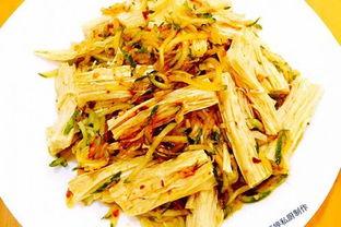 凉拌腐竹黄瓜的做法