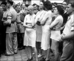 二战结束后,女叛徒的下场,竟然是从 头 做人