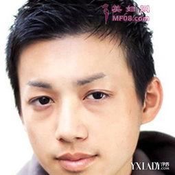板寸头男生短发发型二:-男生短发头型欣赏打造不一样的帅气型男