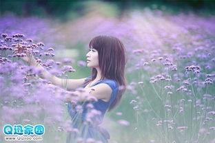等待未来的女生唯美图片 自信是相信自己能变强