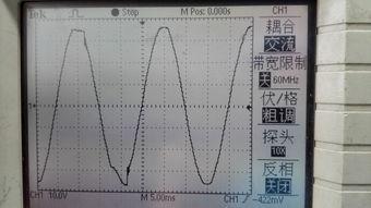 ...波电路正负半周波形跳动