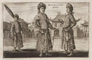 带着王国回明末-荷兰使臣笔下明末清初的中国风貌 ... 宫觐见的莫卧尔帝国使臣.