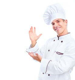 自信笑容的外国厨师图片素材 图片ID 79821 商务人士 人物图片