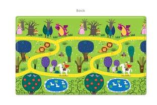 儿童爬行垫卡通图案设计 加急