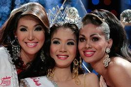 世界变性人选美比赛三甲在泰国揭晓
