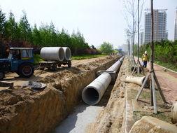 今年计划在204国道两侧、山海路... 海滨一路西侧等新设污水管道,并...