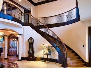 欧式别墅楼梯设计图片欣赏-欧式别墅楼梯装修效果图欣赏
