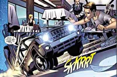 ...普Jeep联手漫画商 新车要当书中英雄