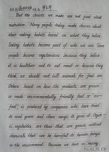 漂亮的手写英文字体