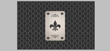 auz36点0-9、我们要反扑克制作成立体的效果.按钮Ctrl键单击扑克和所有花纹的...
