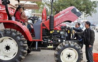 4多万元,帮助334户农民购置农具645台.乐平市今年安排国家农机具...