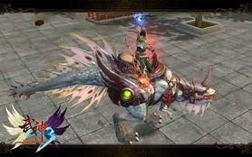 武神3神兽傲视全服 高资质坐骑养成