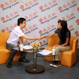 凤凰卫视记者胡玲动情讲述灾区第一现场 图