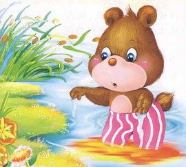 小熊请客的故事