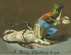 诡卡-早期的圣诞卡竟然这么诡异 维多利亚时期怪诞复古卡片长这样 热点网