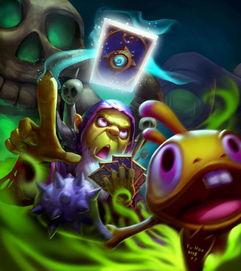 魔兽世界玩家画作欣赏 鱼人术士古尔丹