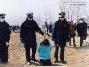 中国女 死囚五花大绑 被枪毙 严打 震撼黑镜头曝