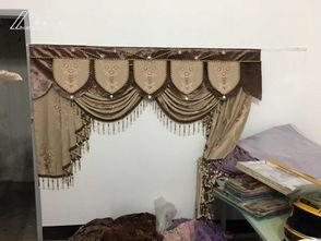 ...几天给客户做的帘头 窗帘款式 展厅设计 帘友之家