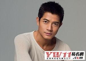 找一个香港男明星的名字