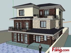 2018农村三层房屋设计图 房天下装修效果图