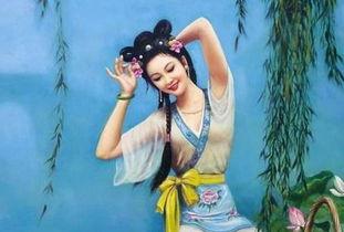 西施-盘点中国最具魅惑力十大美女 中国美女