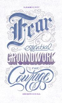 25个漂亮的手绘英文字体设计欣赏