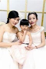 三代女性八组家庭 武汉幸福女人讲述不一样幸福