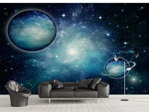 夜空星球宇宙星空墙纸