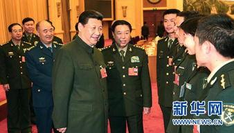 ...近平出席十二届全国人大一次会议解放军代表团全体会议并发表重要...