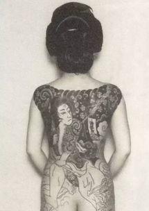 日本黑社会为什么爱纹身