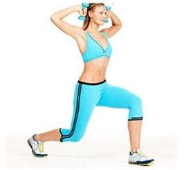 跑步动作-八分钟减肥神操 马上瘦身掉2斤